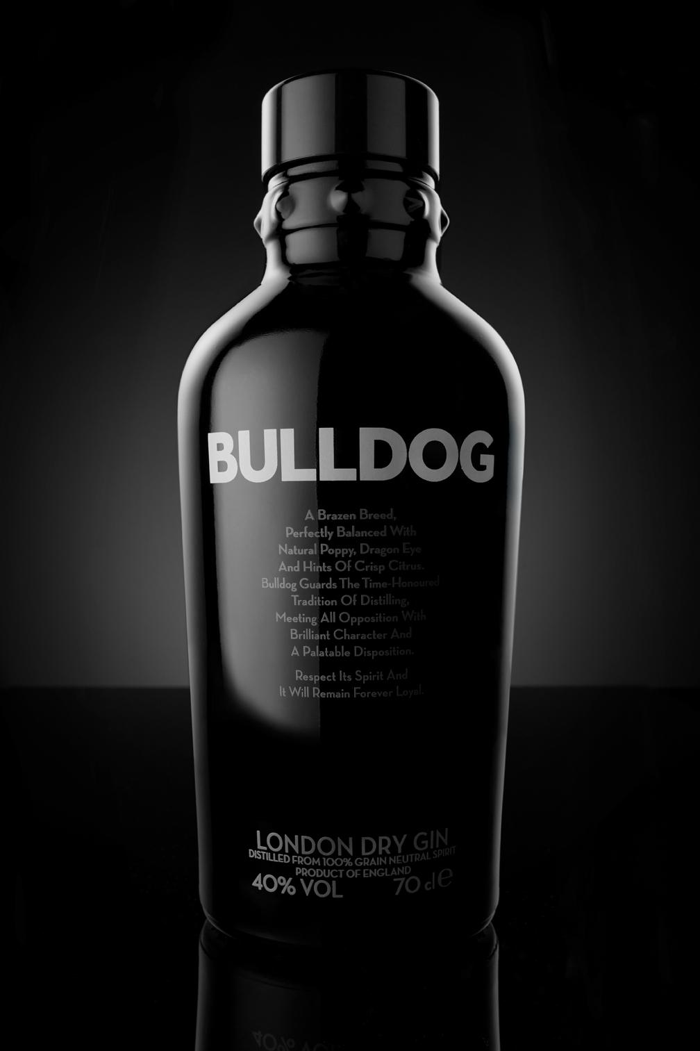 Bulldog, Gin, Bulldog Gin, Stilllife, Still-life Fotografie , Photography, Still, Bottle, Flasche, Christopher Shaw, Hamburg