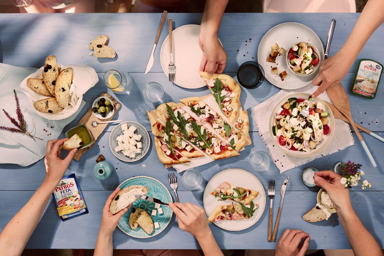 Food, Food-fotografie, picknick , Still-life, Hamburg, Christopher Shaw, Mediteran, Topshot, Patros
