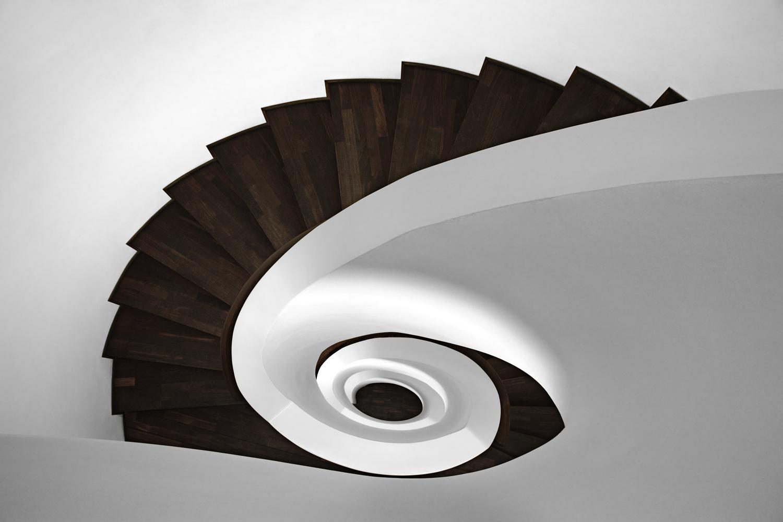 Treppe, Treppenhaus, Wendeltreppe, Architektur Fotografie, Photography, Stairwell, Staircase, Hamburg, Christopher Shaw