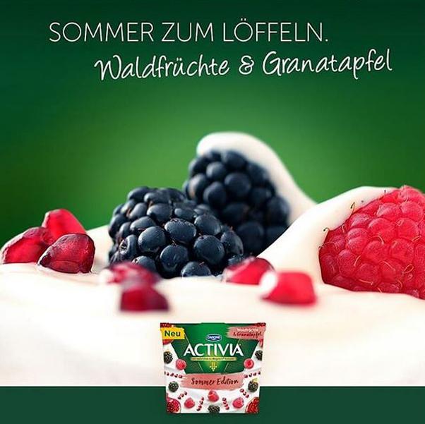 Activia, Food Photography, Hamburg, Christopher Shaw, Activia Jogurt, Frücht Makro
